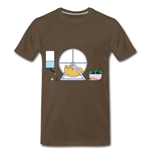 Hamster View - Men's Premium T-Shirt