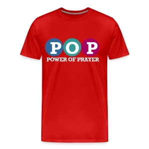 POP: Power of Prayer - Men's Premium T-Shirt