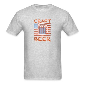 American Craft Beer - Men's T-Shirt