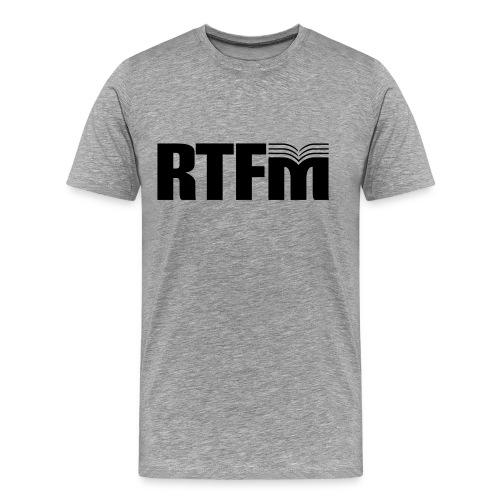 RTFM T-shirt - Men's Premium T-Shirt