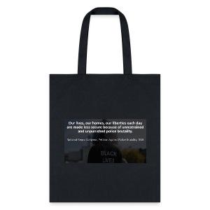 Black Lives Matter Tote Bag - Tote Bag