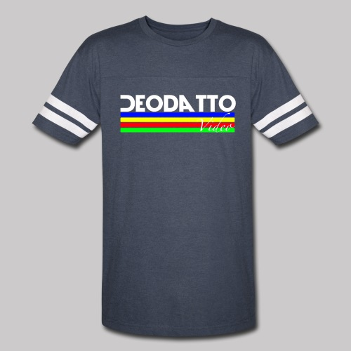 Mens's Deodatto Video Retro T-Shirt - Vintage Sport T-Shirt