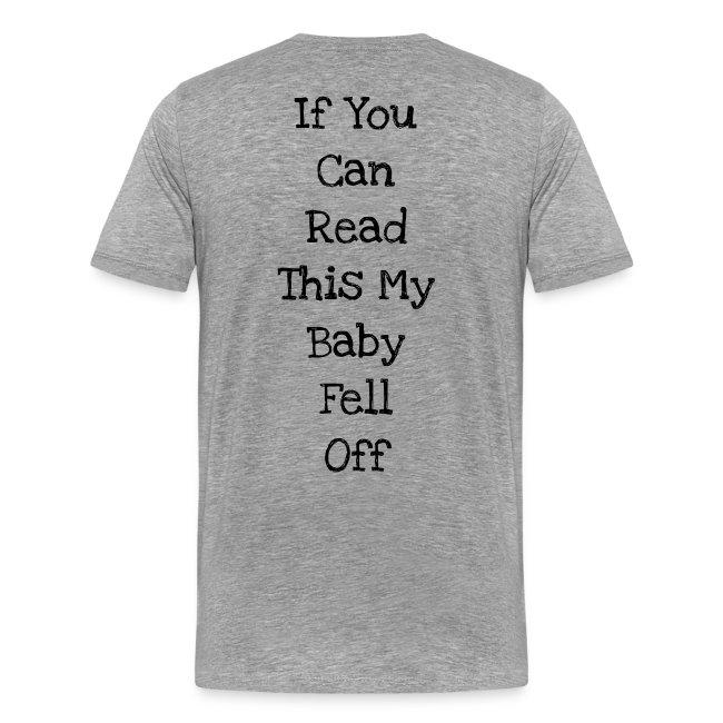 Babywearing baby fell off