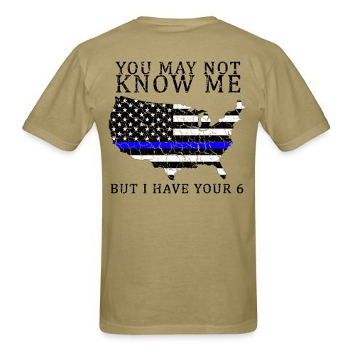 You don't know me police - Men's T-Shirt