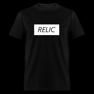 Relic Box Logo White Tee - Men's T-Shirt