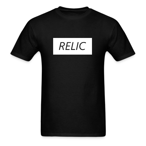 Relic Box Logo White Tee - Men's T-Shirt
