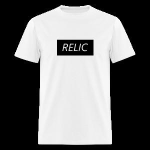 Relic Box Logo Black Tee - Men's T-Shirt