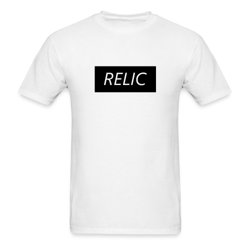 Relic Box Logo Black Tee - Men's T-Shirt