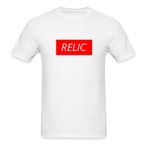 Relic Box Logo Red Tee - Men's T-Shirt