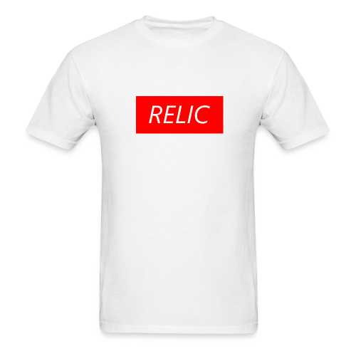 Relic Box Logo Red Tee - Men's T-Shirt