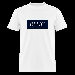 Relic Box Logo Navy Tee - Men's T-Shirt