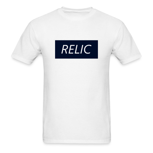Relic Box Logo Navy Tee - Men's T-Shirt
