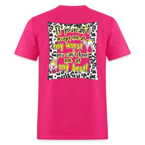 Unisex T-Shirt - My Best - Men's T-Shirt