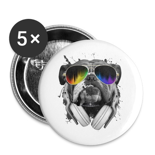 Cool Dog Button - Small Buttons
