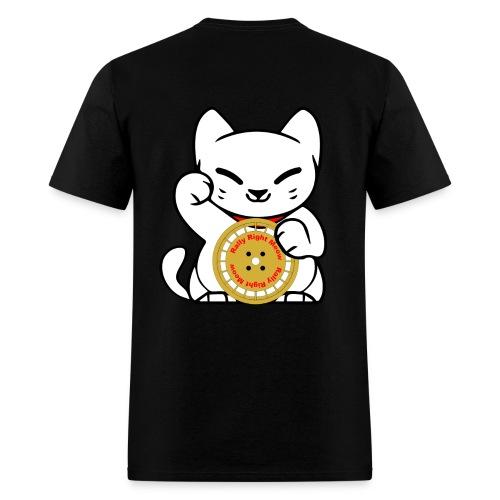 Rally Cat Black Tee - Men's T-Shirt