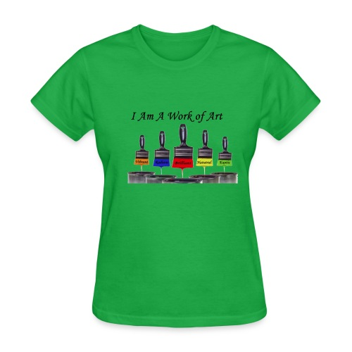 I Am A Work Of Art - Women's T-Shirt
