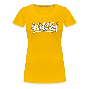 Animated Women's T- Shirt - Women's Premium T-Shirt