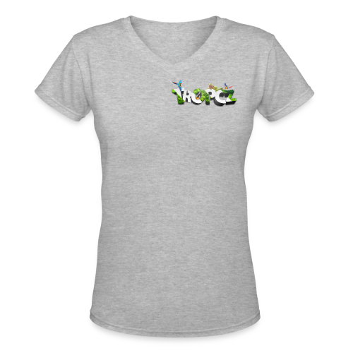 Tropical Tropcz Tee - Women's V-Neck T-Shirt