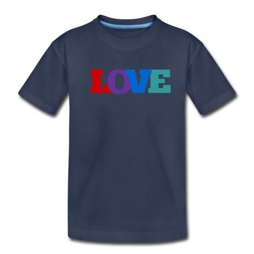 Love, Love, Love - Toddler Premium T-Shirt