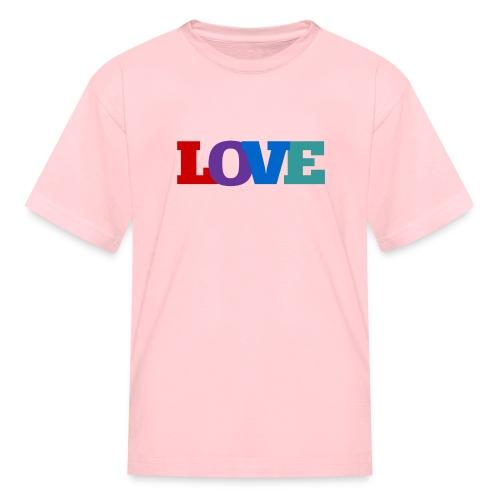 Love, Love, Love - Kids' T-Shirt