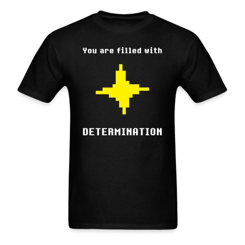 Undertale - Determination - Men's T-Shirt