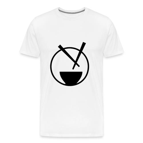 mychickenrice wht - Men's Premium T-Shirt