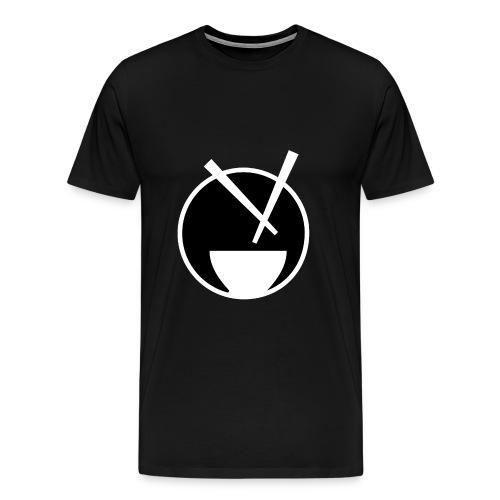 mychickenrice blk - Men's Premium T-Shirt