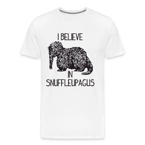 I Believe In Snuffleupagus - Men's Premium T-Shirt