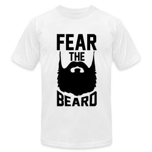 Men's Fear The Beard T-shirt - Men's Fine Jersey T-Shirt
