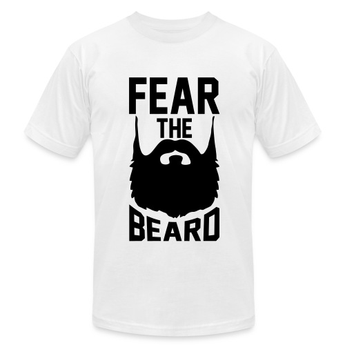 Men's Fear The Beard T-shirt - Men's  Jersey T-Shirt