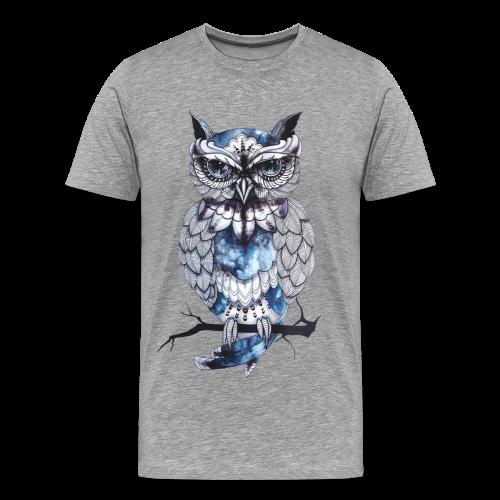 Owl Men Premium T-Shirt - Men's Premium T-Shirt