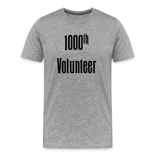 1000th Volunteer - Mens - Men's Premium T-Shirt