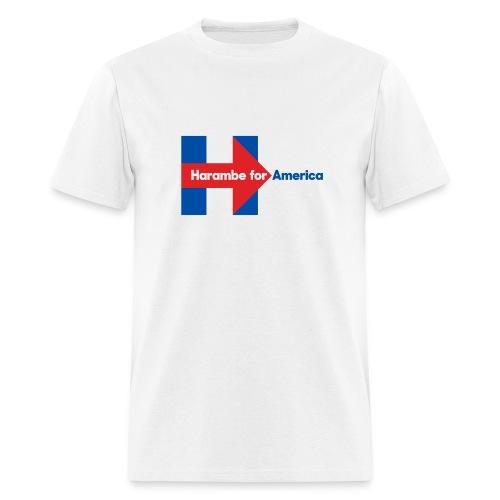 Harambe for America - Hillary Clinton - Men's T-Shirt