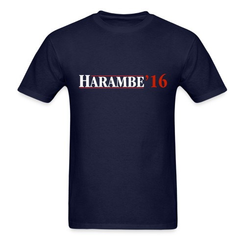 Harambe '16 - Reagan - Men's T-Shirt