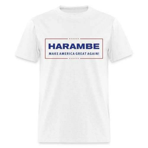 Harambe - Make American Great Again - Donald Trump - Men's T-Shirt