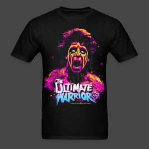 Ultimate Warrior Official Halloween Zombie Shirt - Men's T-Shirt