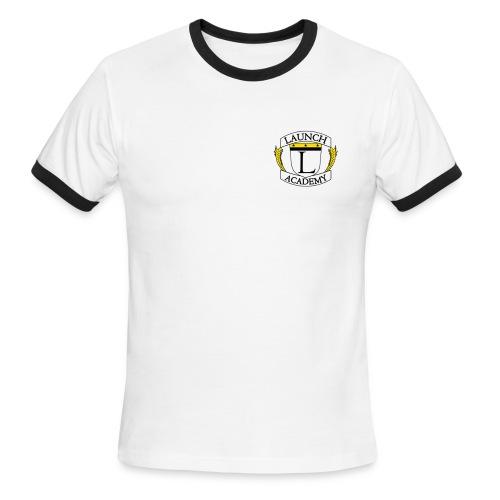 Basic Launch Tshirt - Men's Ringer T-Shirt