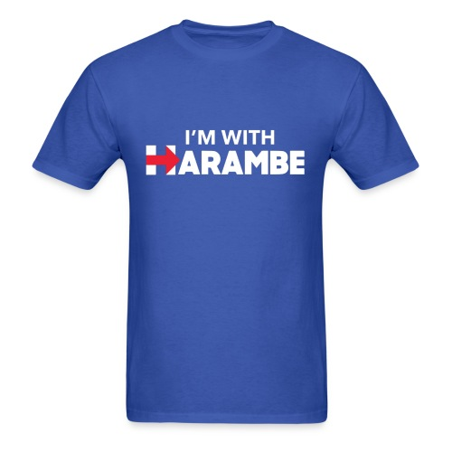 I'm With Harambe - Men's T-Shirt