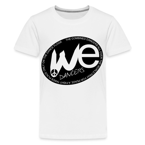 (WE) Kids' Premium T-Shirt in Flex Print (smooth) in black - Kids' Premium T-Shirt