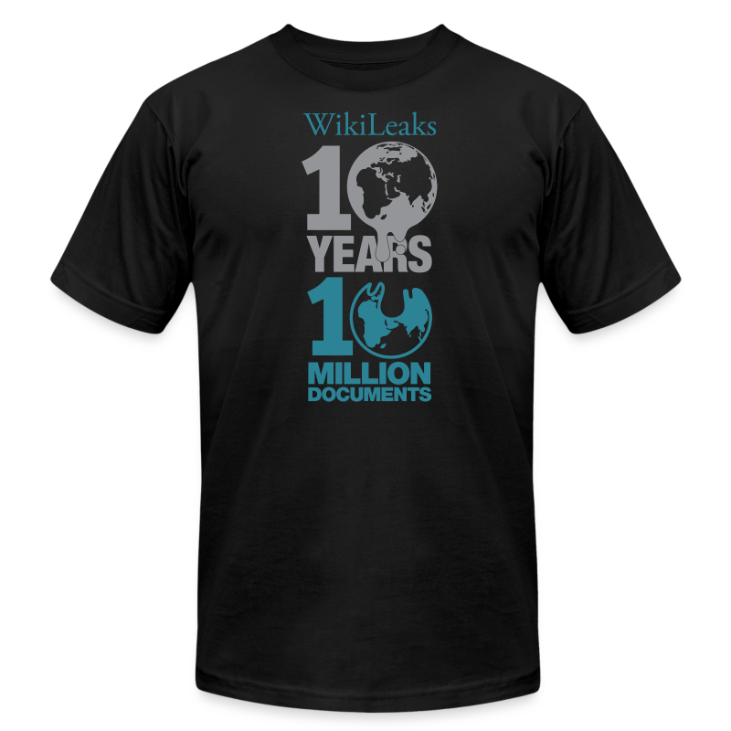 10 Years 10 Million Docs - Men's T-Shirt by American Apparel