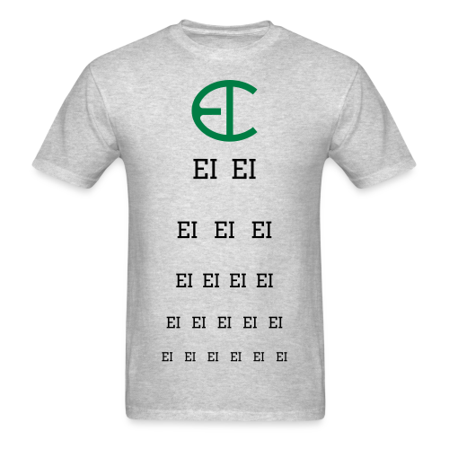 EI-EYE TEST T-Shirt - Men's T-Shirt