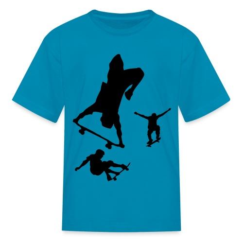 skate man - Kids' T-Shirt
