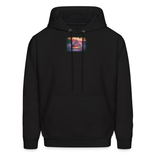 triangle sunset - Men's Hoodie