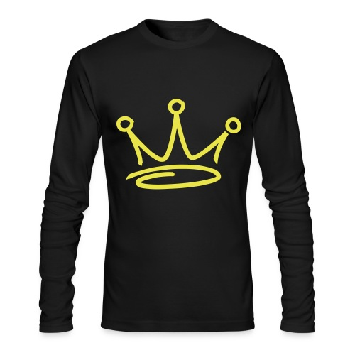 crown - Men's Long Sleeve T-Shirt by Next Level