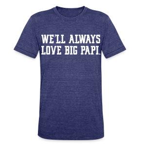 We'll Always Love Big Papi! - Unisex Tri-Blend T-Shirt