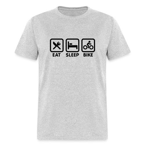 Eat Sleep Bike - Men's T-Shirt