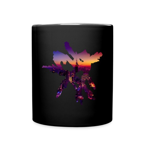 Heart Mug [City Night] - Full Color Mug