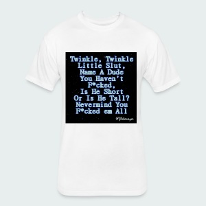 Twinkle Twinkle - Fitted Cotton/Poly T-Shirt by Next Level