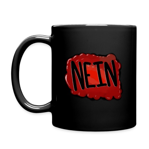 NEIN Mug (Right-Handed) - Full Color Mug