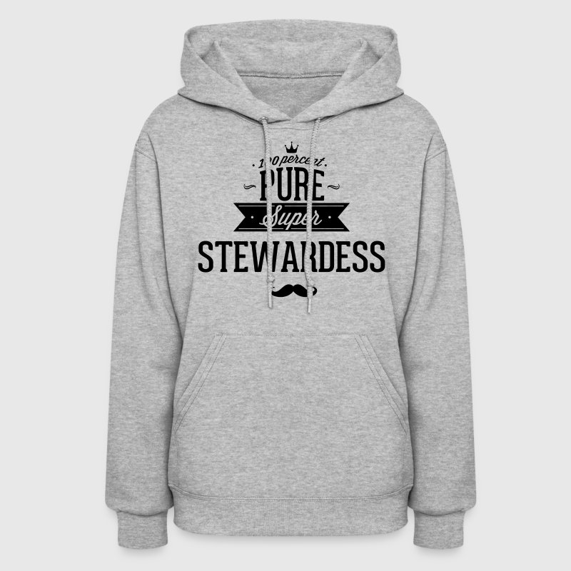 100 percent pure super stewardess Hoodies - Women's Hoodie